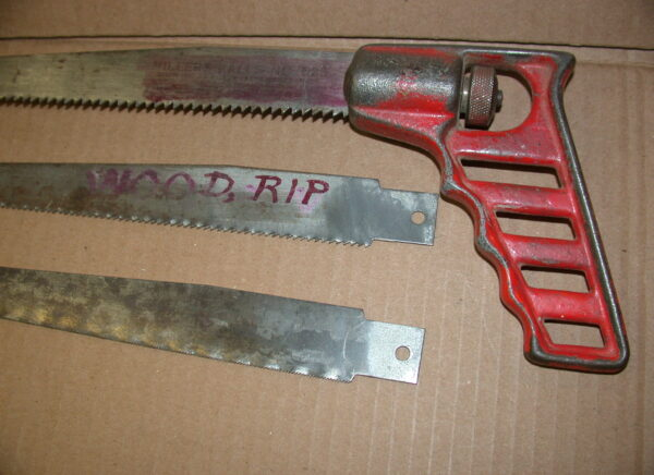Millers Falls Multi Saw Handle & 3 Blades, 80212656