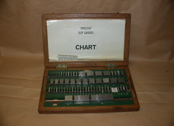 Precise 63 Piece Slip Gauge Set, 80212723