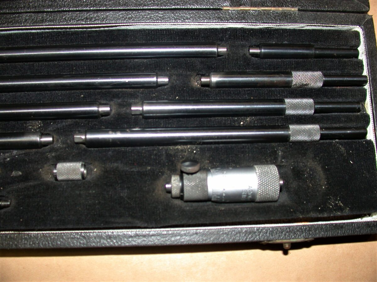 """Shardlow 2"""" - 12"""" Inside Micrometer, 80212732"""