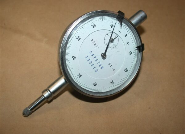 "Capstan Exceed Clock, .0005"" Resolution. Unused, 80212755"