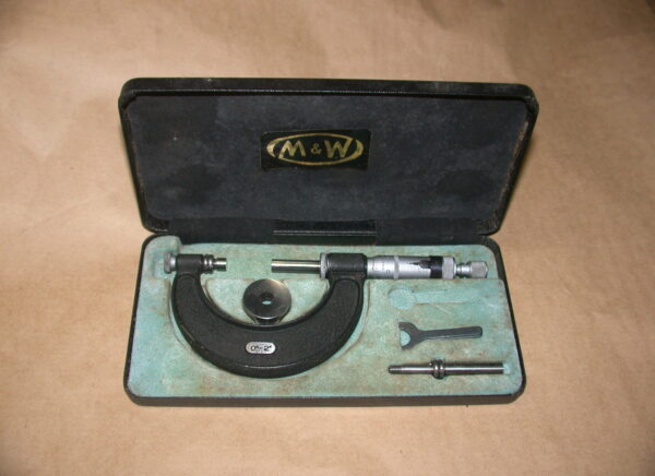 "Moore & Wright 0 - 2"" Adjustable Micrometer, 80212805"