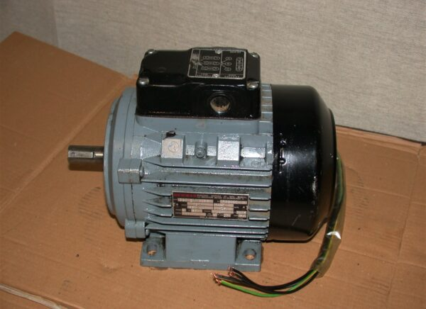Newman 0.55kw/3/4 HP Dual Voltage Foot Mounting 3 Phase Motor, 80212839
