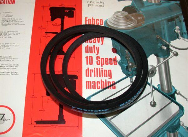 New Premium Quality Belt for Fobco 7/8 Drilling Machine, 80212846