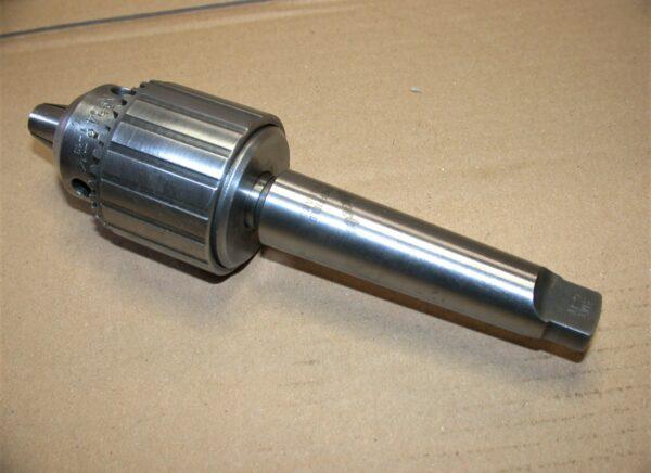 """Jacobs No 34, 0 - 1/2"""" Cap. Drill Chuck, 3 MT Shank, Key, 80212915"""