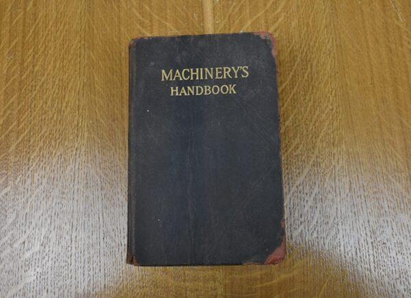 Machinery's Handbook, 4th Edition, 1915. 80212772