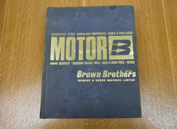 Brown Brothers Motor Accessories & Garage Equipment Catalogue, 1967/8. 80212780