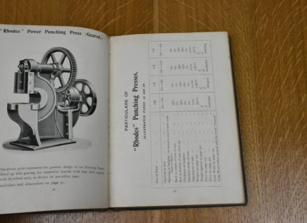 J.Rhodes & Sons, Grove Iron Works, Wakefield, Machine Catalogue, 1901. 80212793