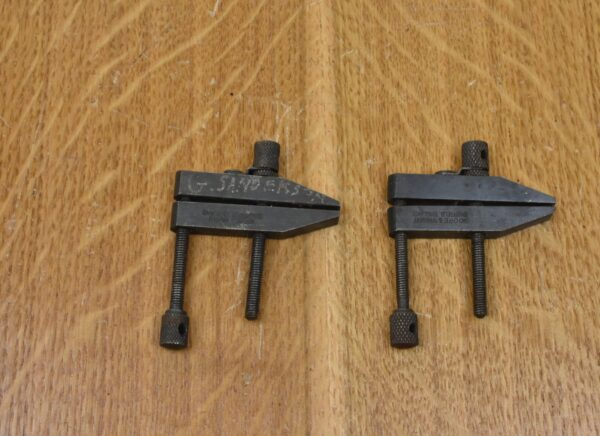 """2 x Moore & Wright 2"""" Toolmaker's Clamps. 80212857"""
