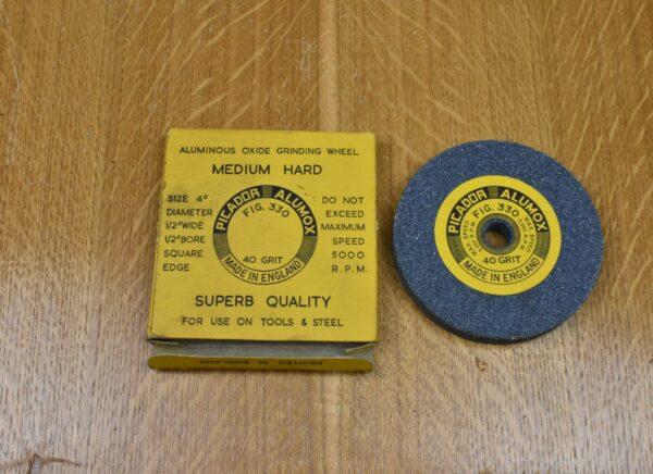 "Picador Fig.330 4"" 40 Grit Aluminium Oxide Grinding Wheel. 80212878"