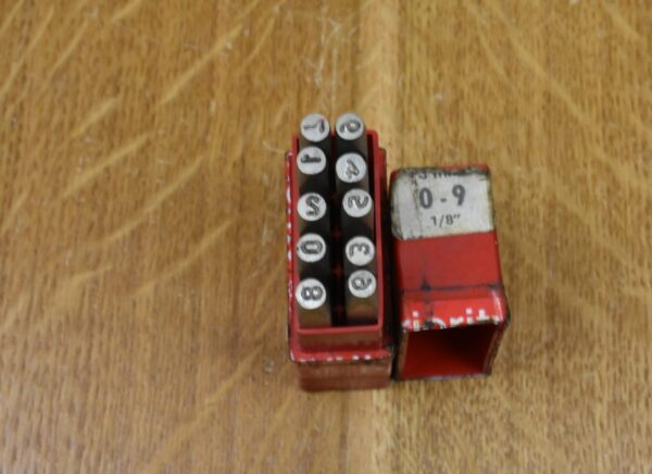 """EP Priority 1/8""""/3mm Number Punch Set, 0-9. 80212881"""